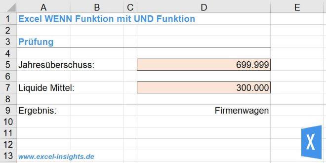 Excel Insights: Excel WENN Funktion verschachtelt für 3 Optionen