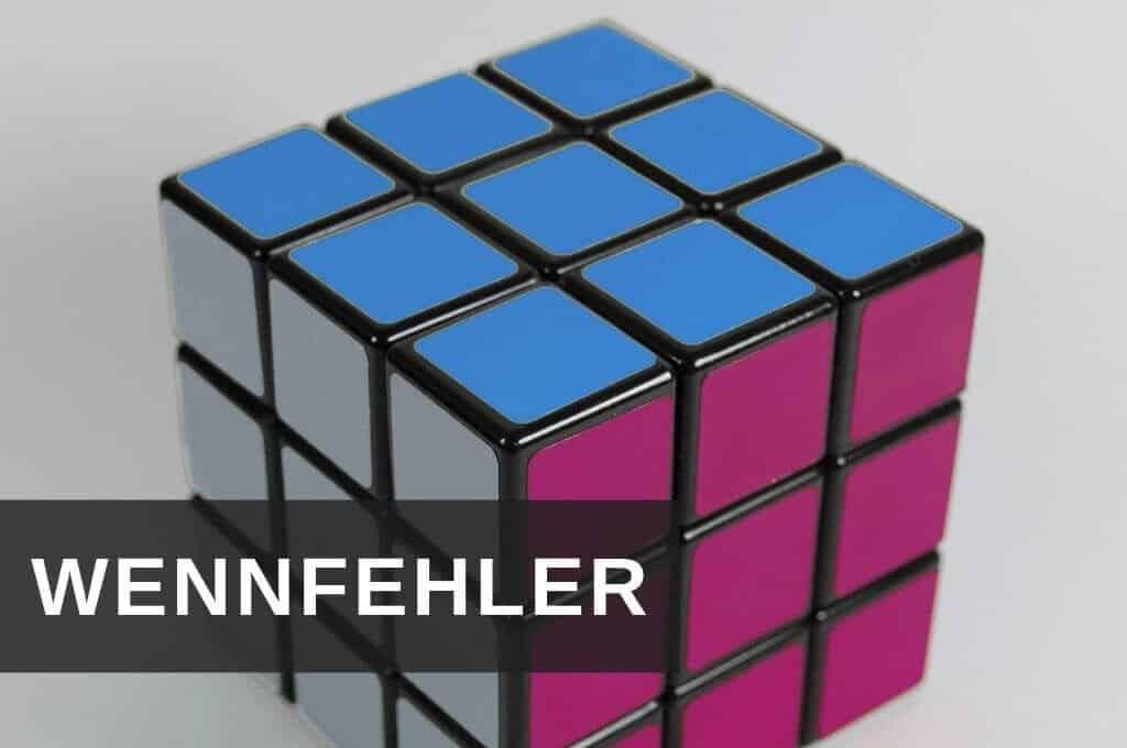 Excel Insights: Excel WENNFEHLER Funktion symbolisiert durch logischen Würfel