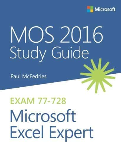 Excel Buch von Microsoft Press: MOS 2016 Study Guide Microsoft Excel Expert
