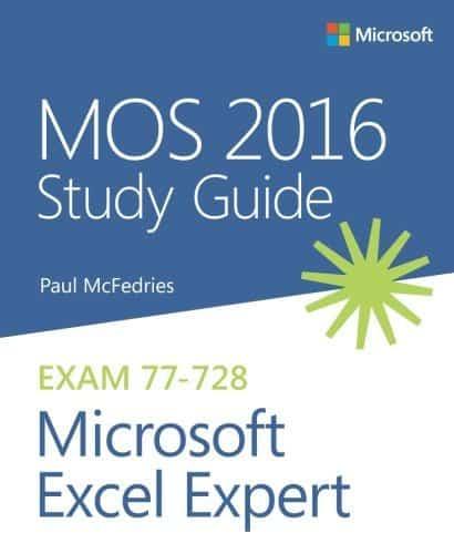 Excel Buch von Microsoft Press: MOS 2016 Study Guide Microsoft Excel Expert
