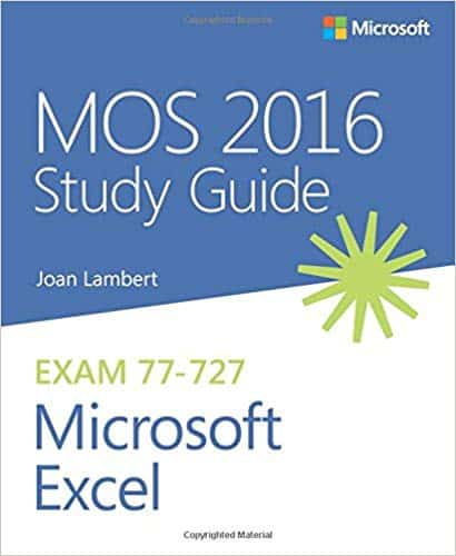 Excel Buch von Microsoft Press: MOS 2016 Study Guide